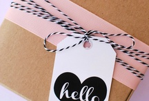 Wrap it Up / Wrapping, packaging, and paper related prettiness