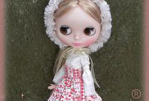 My own designs for Blythe dolls