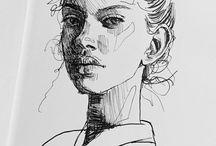 beautiful paintings and drawings