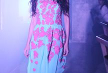 Hawaiian fashion show / Hawaiian floral gown collection from Soucika by Kamal Raj Manickath