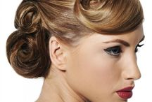 Bridal Hair / Bridal hair that we love! / by deBebians
