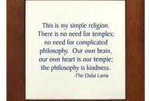 Rumi, Gandhi, and The Dalai Lama... OM my! / by Christina Bonner
