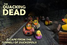 "The Quacking Dead / We're big fans of ""The Walking Dead"" here at DiscountPartySupplies.com.  We've enjoyed mixing our highly popular rubber duckies with a zombie theme to create ""The Quacking Dead!"" Enjoy, and if you find these funny or you're a big fan of ""The Walking Dead,"" please repin, like and post your comments."