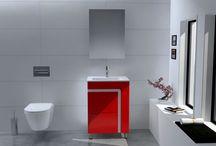 STRATO - Έπιπλο μπάνιου / Το Έπιπλο μπάνιου Strato είναι ένα έπιπλο μπάνιου κατασκευασμένο εξ'ολοκλήρου από PVC, κάτι το οποίο προσδίδει στο προϊόν υψηλή αντοχή σε υγρασία. Ο νιπτήρας είναι από υαλώδη πορσελάνη και οι τελικές διαστάσεις της κατασκευής είναι 60 x 46 x 85 cm. Ο σκελετός της βάσης έχει χρώμα λευκό ενώ η πρόσοψη μπορεί να επιλεγεί ανάμεσα σε 4 αποχρώσεις Λευκό - Μαύρο - Κόκκινο η Μπεζ. Επιλεκτικά το προϊόν συνοδεύεται με καθρέπτη διαστάσεων 55 x 75 cm.