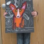 Art-Elementary Projects / by Tracy Roberts