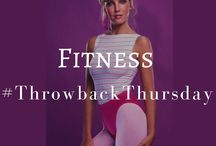 Fitness #ThrowbackThursday / It's easy to forget how good we have it compared to fitness fanatics of days gone by! ThrowbackThursdays and TBT to workouts not so long ago.