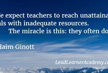 Teachers / by Lead Learner Academy