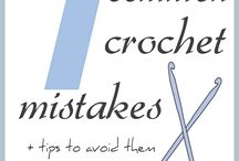 Common mistakes made in crochet