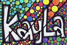 name art for kids
