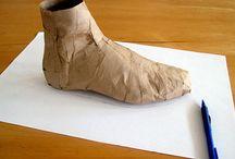 ayakkabı deseni oluşturma