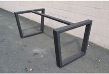 tavolo base ferro