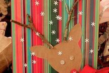 Decori natalizi pacchi e bags