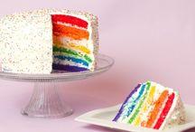 Birthday Party: Rainbow / Fun ideas for a rainbow themed birthday party! - candleinthenight.com