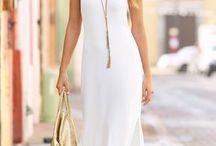Come indossare un vestito bianco