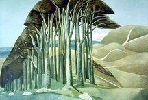 Paul Nash / British 20th Century landscape painter