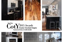 2015 NARI Cleveland CotY Awards - Best Kitchen $15,000-$30,000 / BEFORE/AFTER pictures from our 2015 NARI Cleveland Contractor of the Year award-winning kitchen in the Tremont neighborhood of Cleveland.