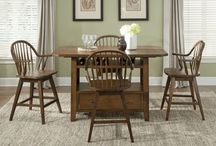 Pub & Counter Sets / These sets are usually taller and come in ranges from a 3 piece all the way to an 8 piece.