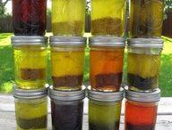 infused oils etc