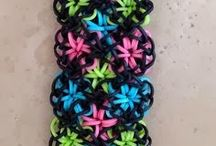 Loom bands / This board is for rainbow loom designs and bracelets