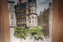 Art of Maxence Albanel / Mes #croquis, #characterdesign, #environment design, #sketch, #architecture, #etudedocumentaire, #Anatomie, #modèlevivant