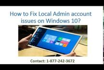 Call 1-8772423672 to Fix Local Admin account issues on Windows 10