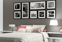 photographs in golden frames