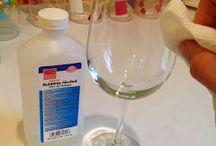 Poharak díszítése