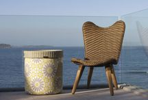 Furniture for Small Outdoor Living Spaces / Beautifully hand created luxury outdoor furniture solutions for small spaces.