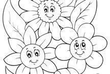 omalovánky - obličejíčky