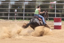 Barrel Racing / If your not making dust you are eating it!