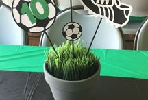 Fotballbursdag / Party ideas