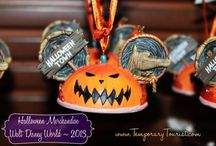 Halloween Merchandise at WDW / Walt Disney World celebrates each holiday.  For 2013, we visited during Halloween/Fall to see all the spooky decorations and merchandise.  See exclusive Halloween Mickey Mouse merchandise from Disney.  www.temporarytourist.com