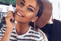 Bronze makeup natural