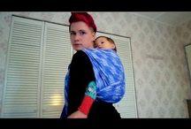 babywearing / by Elysse Fleece