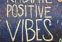 """""""The mind is everything. What you think, you become"""" / Radiate Positivity"""