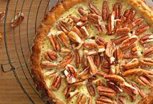 Peren noten gezouten karameltaart
