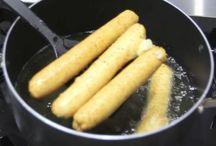 Chipa frita/biscoito de pilvilho
