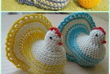 crochet/knitting animal
