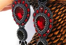 Beaded earrings - inspiration