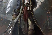 Captains/Pirates