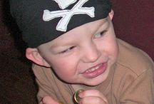 Kids and pirates / Inspiration for a pirate themed birthday party