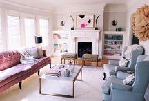 I N T E R I O R S / Beautiful rooms and swoon-worthy interiors.  / by Christina Stiehl