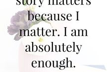 My story and the story of others