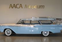 "A Family Affair: Station Wagons / Who is up for a summer Roadtrip?! ""A Family Affair"" summer exhibit will showcase both familiar and lesser known examples of station wagons and the impact they had on family life. / by AACA Museum"