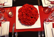 Set the Ambience / Set the mood of your event with table and room décor.