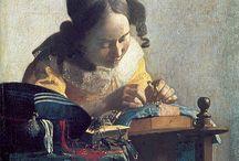 Vermeer / Johannes, Jan or Johan Vermeer (Dutch: [joˈɦɑnəs jɑn vərˈmɪːr]; 1632 – December 1675) was a Dutch painter who specialized in domestic interior scenes of middle-class life. http://en.wikipedia.org/wiki/Johannes_Vermeer