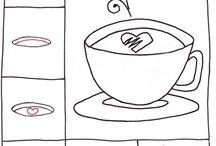 draw шаг. предметы