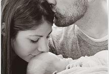 newborn mom and dad