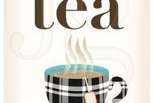Tea party illustrator