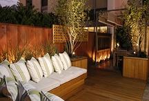 Outdoor Terrace Garden  / Ideas to landscape Apartment terraces / by Kavita Cheruvatath